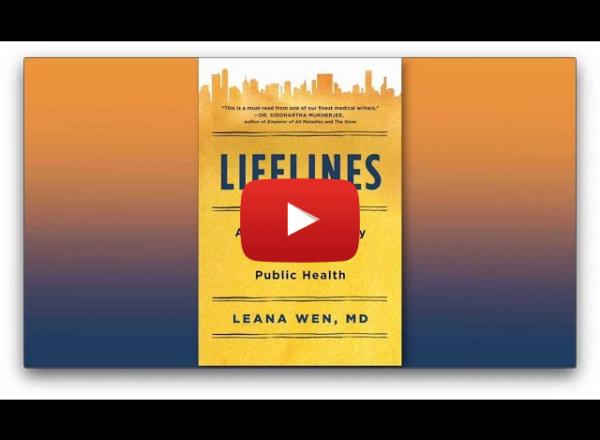The Virtual Author Series Presents: Dr. Leana Wen